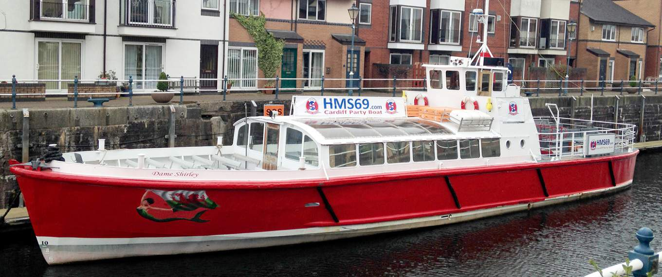dame-shirley-boat-hire-cardiff